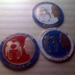Odznak AKT - výroba odznaku POLICIE AKT = Antikonfliktní tým