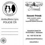 AKT policie 6 Certifikát Odznak výroba
