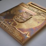 Výroba vyznamenání řád ŽATEC Saaz 7*7cm