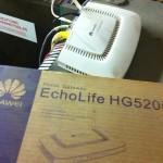 Router telefonika o2 nastaveni HUAWEI EchoLife HG520i