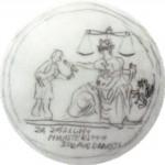 Medaile Plakety Justice Návrh