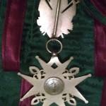 Kříž Svatého Lazara z Jeruzaléma Předloha insignie