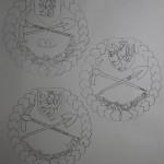 LP-2 Návrh odznaku Lovec pokladů Nákresy
