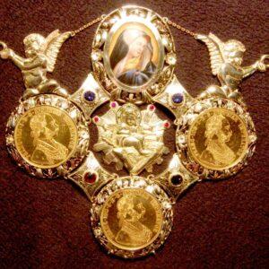 Zlatá kolana Madona s Ježíšem