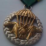 Stříbrné vyznamenání. Pamětní medaile ze stříbra Ag 925.
