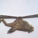 Vrtulník část odznaku