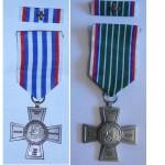 Medaile Lev a meč - starší udělěné -1