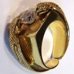 Prsten hadi 3 Kobry obdelnik