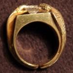 Výroba šperku Cobra prsten Ruční práce