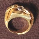 Kobra prsten Výroba divedelní filmový šperk