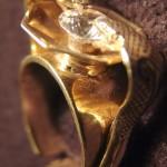 Pánský prsten Kobra