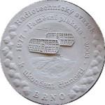 Sádrový model medaile pro výrobu