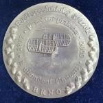 Vyrobená medaile v etui