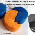 Výroba odznaku 3 modely návrhy