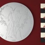 Svatební tolar 1 Počítačový moled stříbrné mince