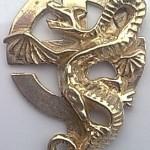 Vyznamenání Kříž Had Drak Avers