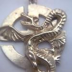 Výroba vyznamenání - KŘÍŽ drak HAD
