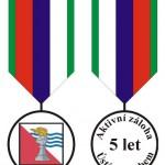 AZ 151 Návrh Medaile Aktivní zálohy Ústí nad Labem 2007-01