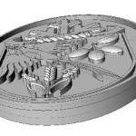 Počítačový model odznaku v plasticitě