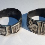 Vojenský prsten AZ 131 - Malý a velký znak
