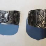 Dva modely vojenského prstenu AZ 131
