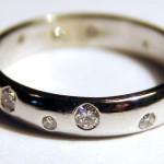 Prsten angličák s diamanty