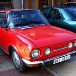 Škoda 110r Kvasnička v Nenačovicích