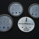 Klopový odznak Club 300 velikost 5 Kč