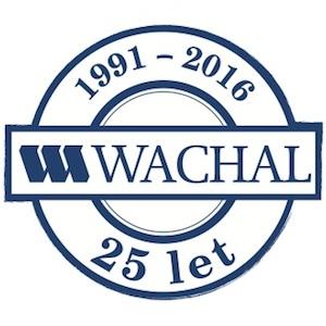 logo Wachal 25 let výročí
