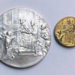 medaile-Karel-IV-odrazek-40a20mm-26-Ag-MsZ-Tolar-dukat