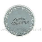 medaile ČKAIT rytina jména do mince