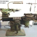 Rytecká fréza pantograf FRIEDRICH DECKEL MUNCHEN - GK21 + 3D kopírka - REDUCÍRKA DECKEL 6030-005