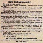 1918-10-28-Lide-ceskoslovensky-Tvuj-odveky-sen