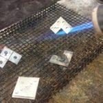 Výroba stříbrných odznaků DOMINO