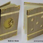 Kniha MUŽI 28. ŘÍJNA první prototyp knihy