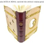 Kniha MUŽI 28. ŘÍJNA zdobená granáty