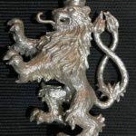 Výroba sochy, sošky ze stříbra, ČESKÝ LEV