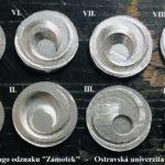 Výroba odznaků logo ZÁMOTEK prototypy 8ks - OSTRAVSKÁ UNIVERZITA
