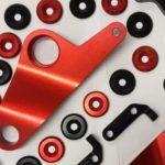 Výroba odznaků - barevný eloxovaný hliník - barvy