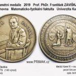 pametni-medaile-F-ZAVISKA-140-let-vyroci-MMF-Knihovna-Karlovy-univerzity_prvni-razba-popis